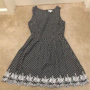 Cute poka dots dress size small
